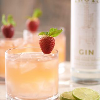 GINdiana Strawberry Mule