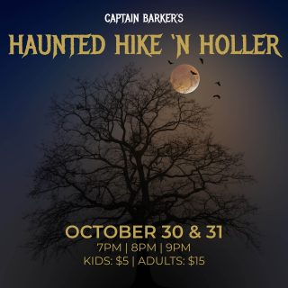 Haunted Hike 'N Holler
